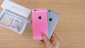 """Clone de """"iPhone 6s"""" rosa"""
