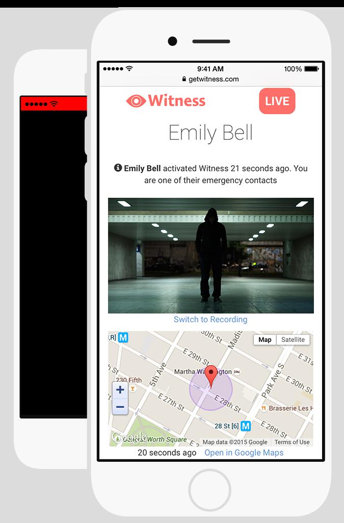 Witness para iPhone