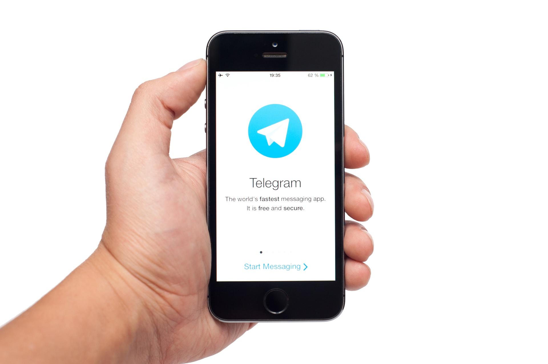 App Telegram para iOS
