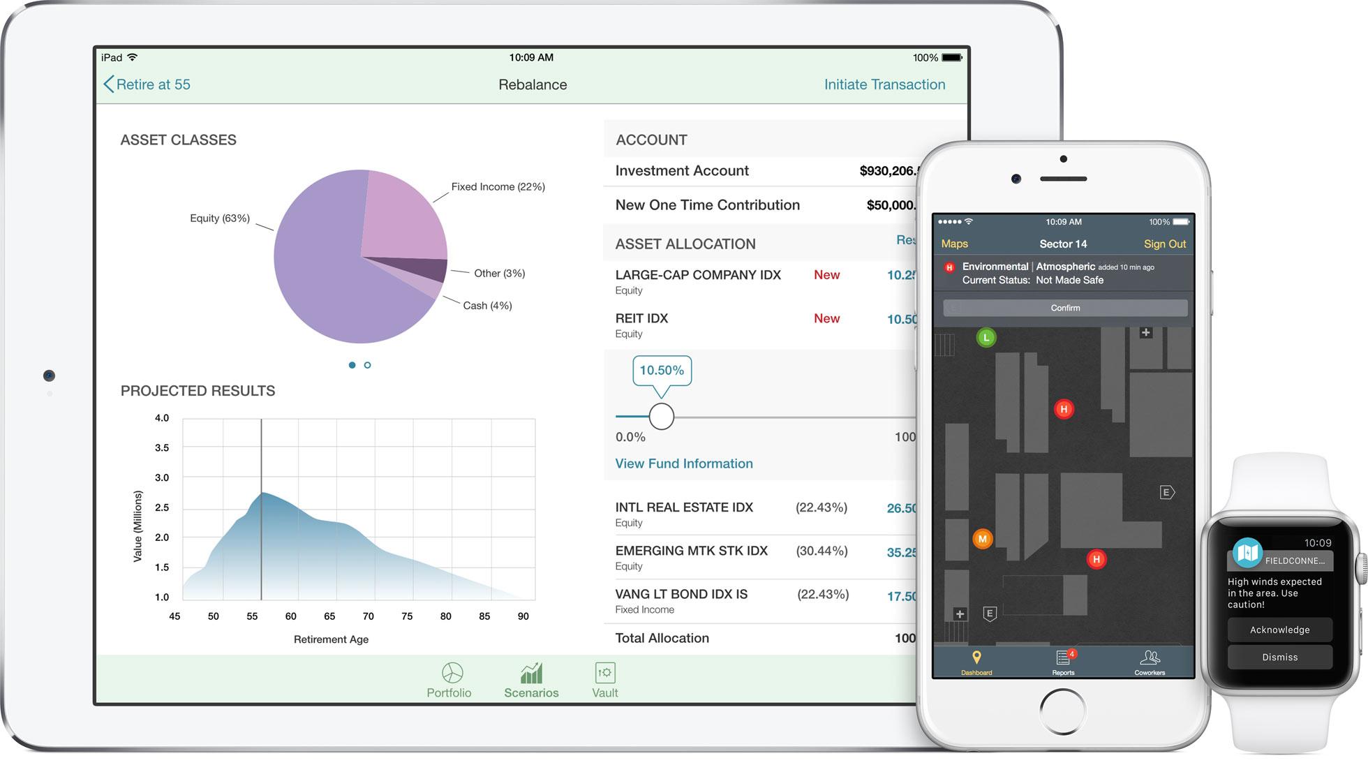 Novos apps da parceria Apple + IBM