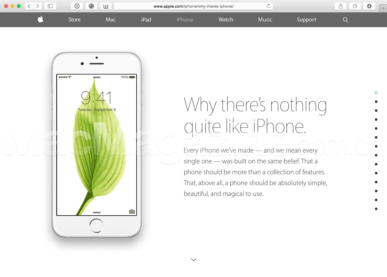 Campanha da Apple - iPhone