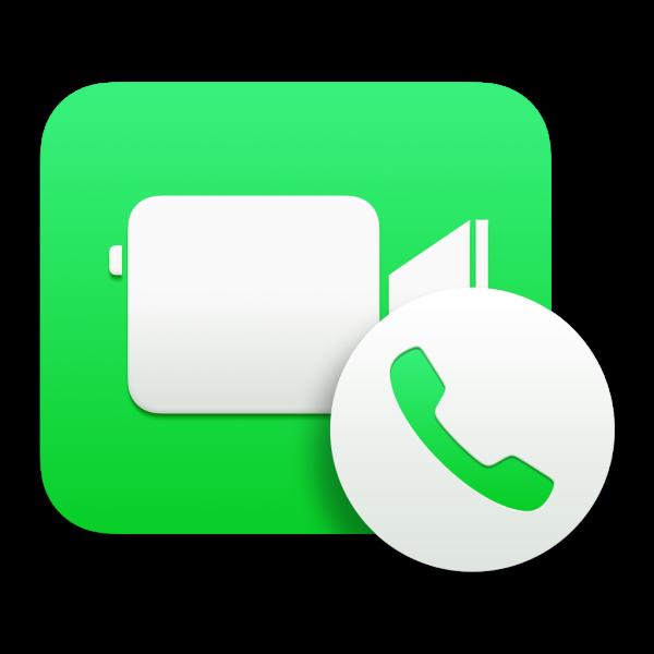 Ícone - FaceTime para Mac OS X