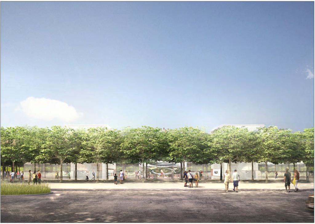 Centro de visitas do Apple Campus 2