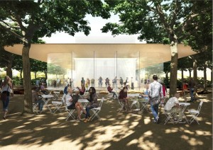 Centro de visitas do Apple Campus 2
