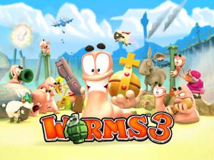 Jogo Worms3 para iOS