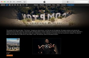 Compton (novo álbum de Dr. Dre) em destaque na iTunes Store