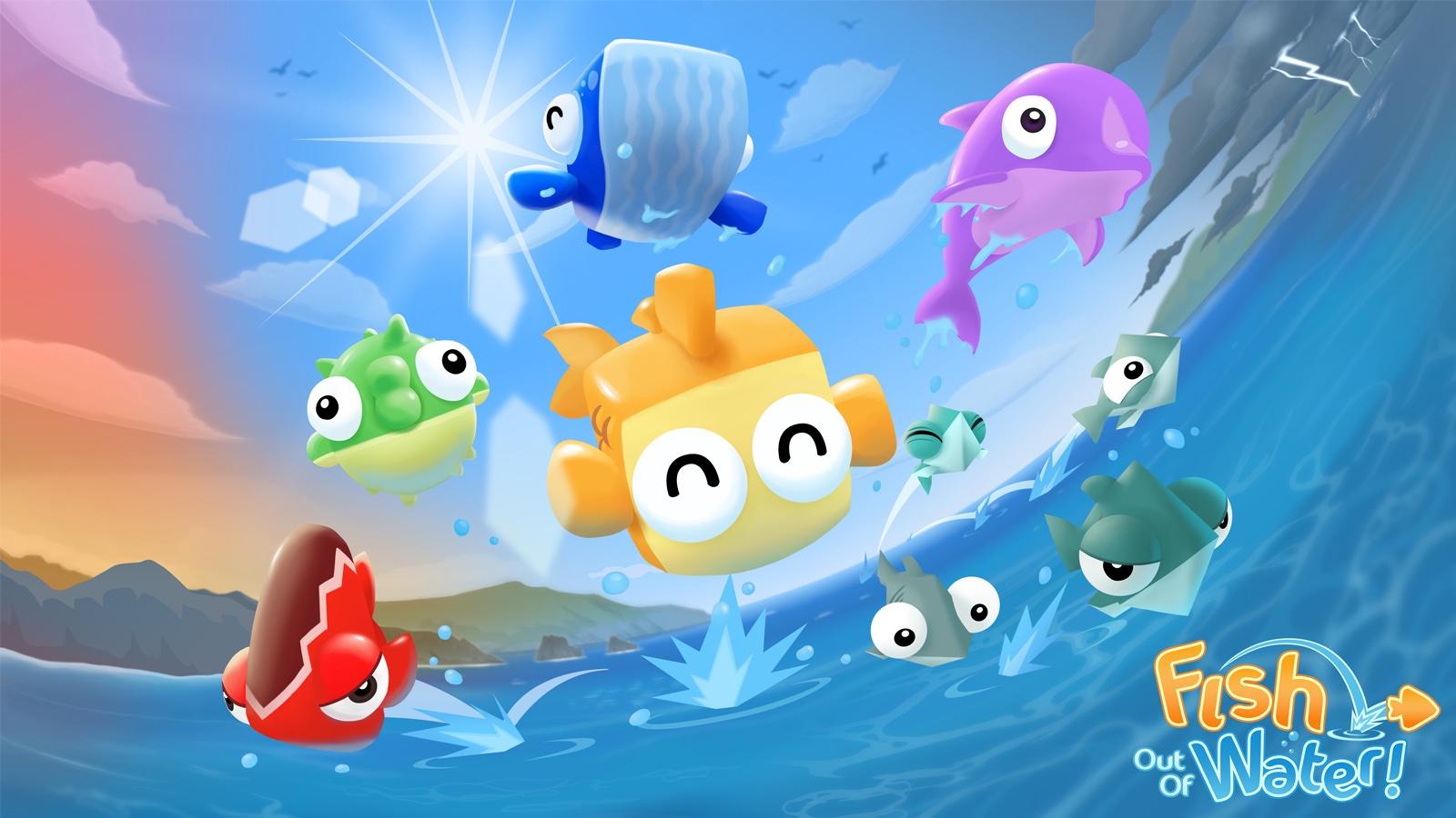Jogo Fish Out Of Water para iOS