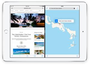 Recurso Split-View, do iOS 9