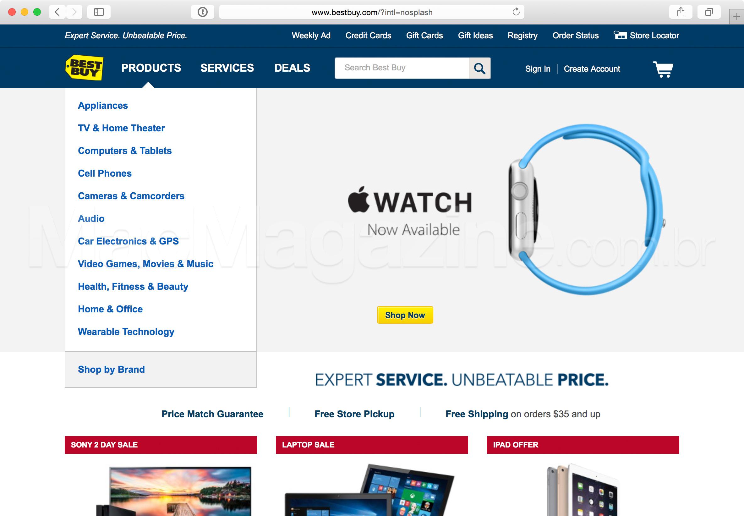 Apple Watch na Best Buy
