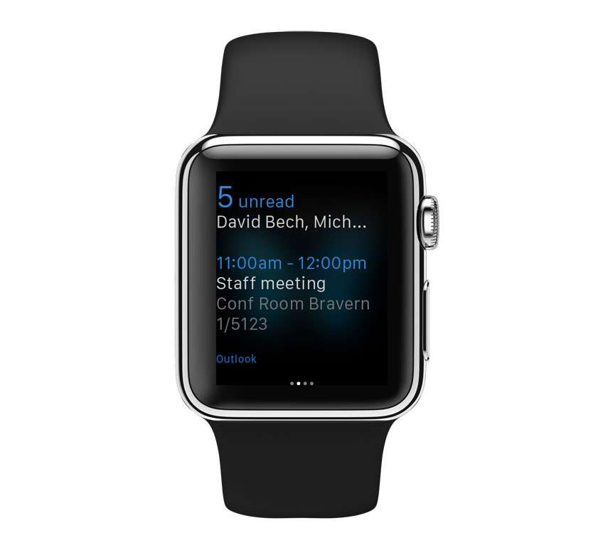 Outlook para iOS/watchOS