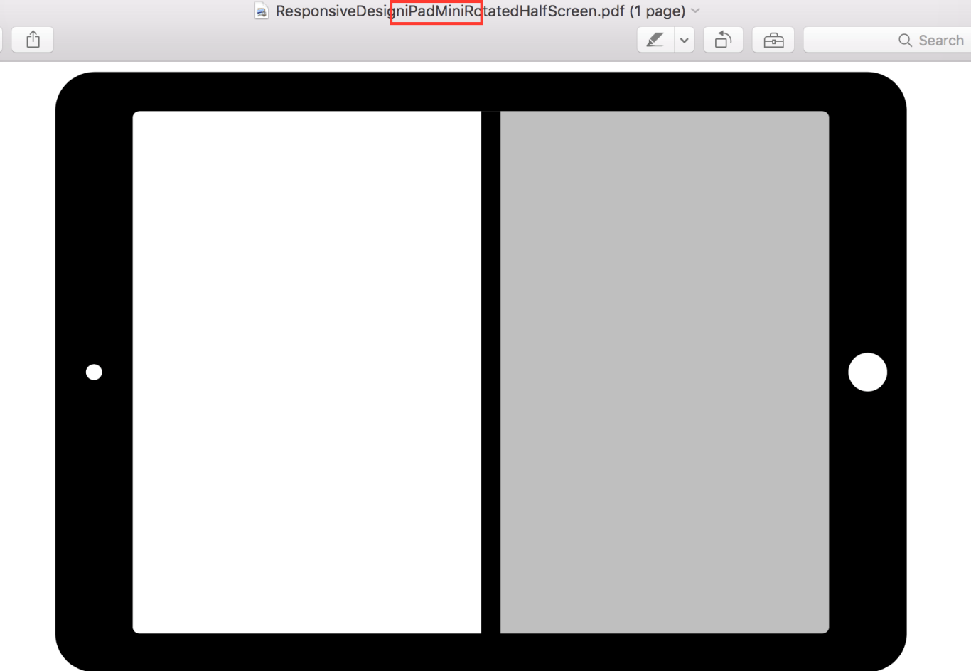 """Suposto """"iPad mini 4"""" rodando dois apps lado a lado (Split-View)"""