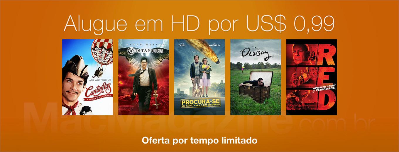 Aluguel de filmes por US$1