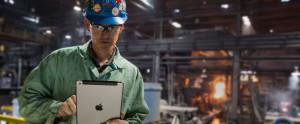 iPad nos negócios