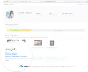 Backup do iCloud.com