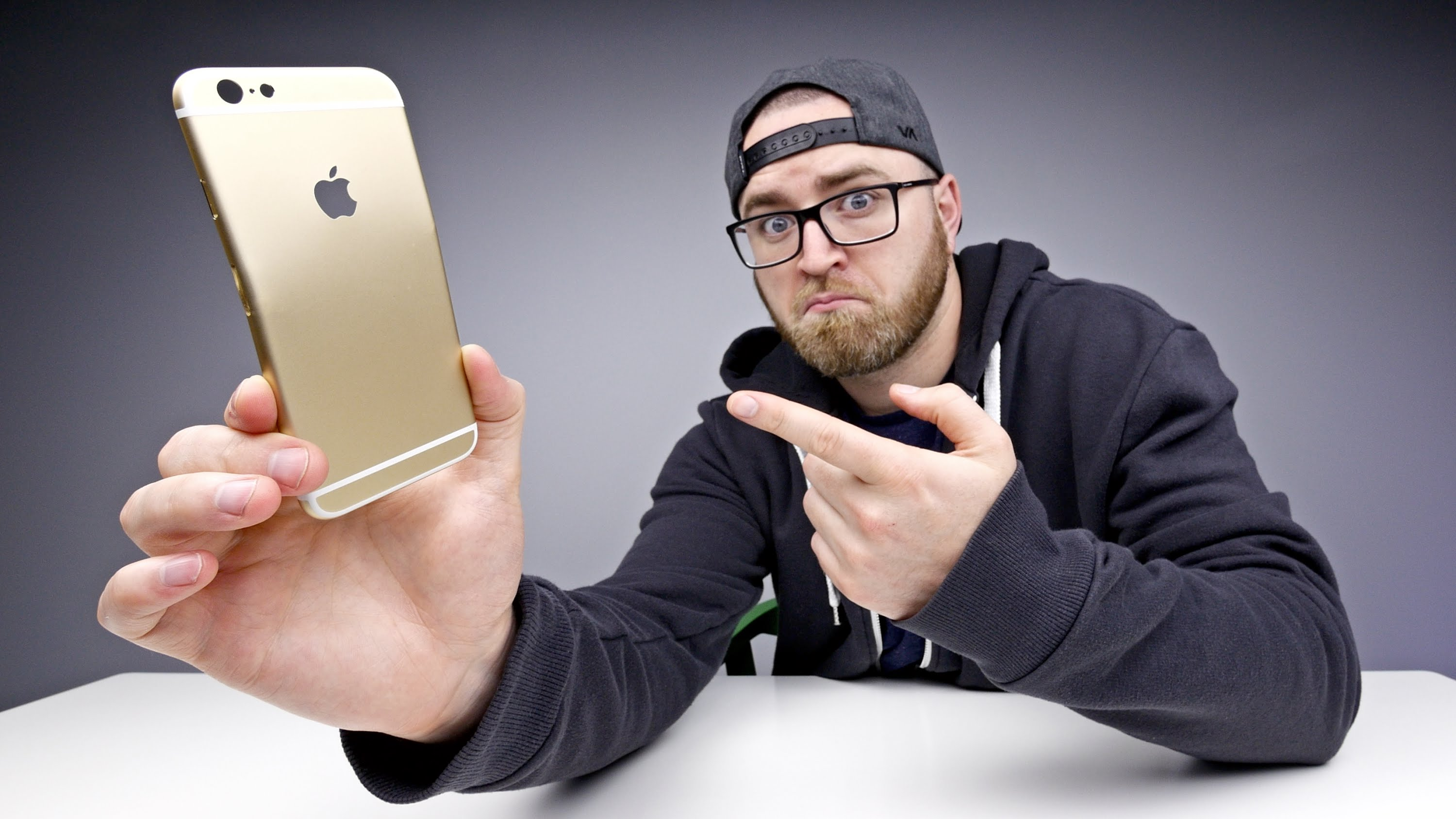 "Teste com a carcaça do ""iPhone 6s"""