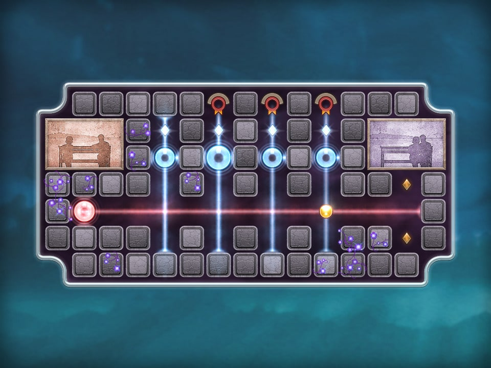 Jogo Quell Memento+ para iOS