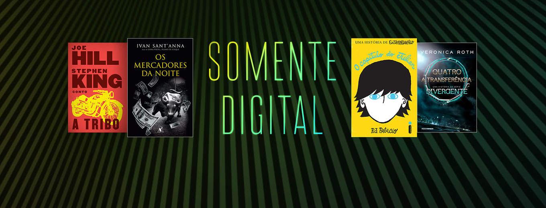Livros somente digital