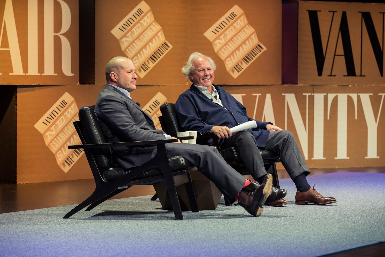 Jony Ive participando do Vanity Fair New Establishment Summit 2014