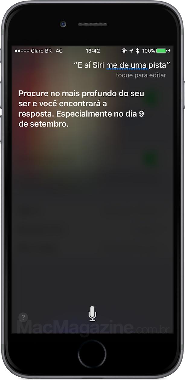 Siri já sabe sobre o evento da Apple