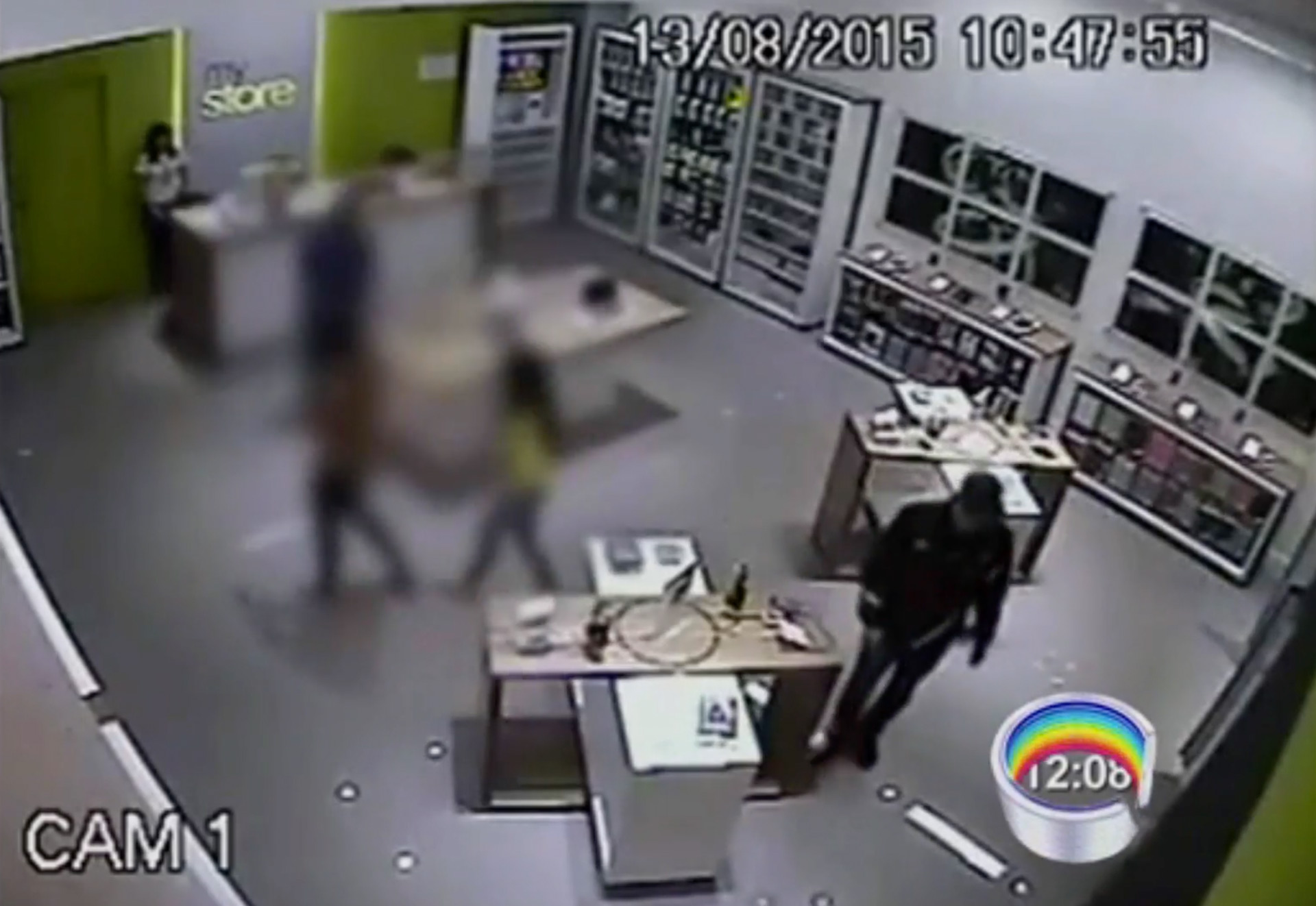 MyStore assaltada em Taubaté
