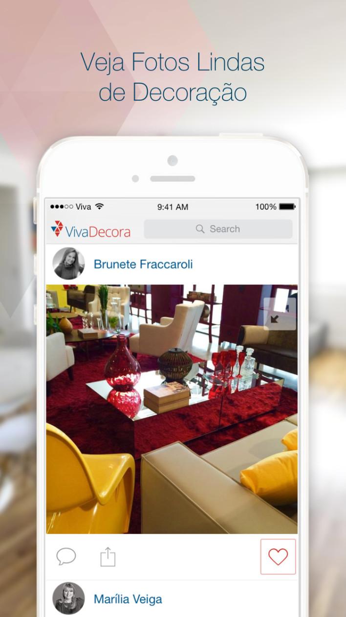 Inspire-se para decorar a sua casa com este novo app para iPhones/iPods touch