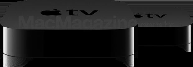 Mockup das novas Apple TVs
