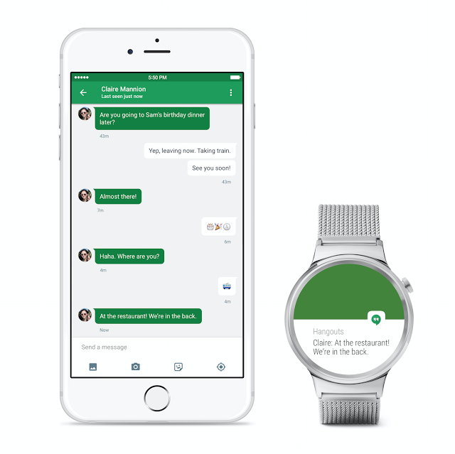 Android Wear para iOS
