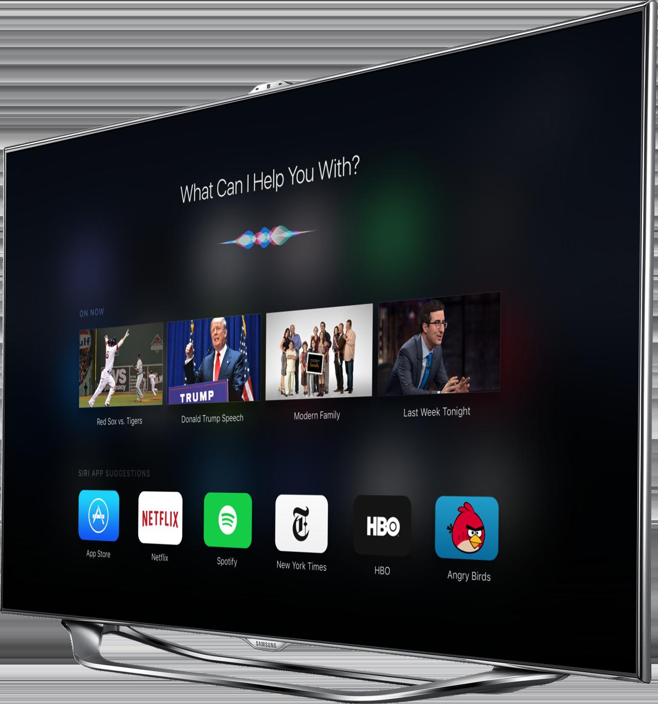 Conceito para a nova Apple TV