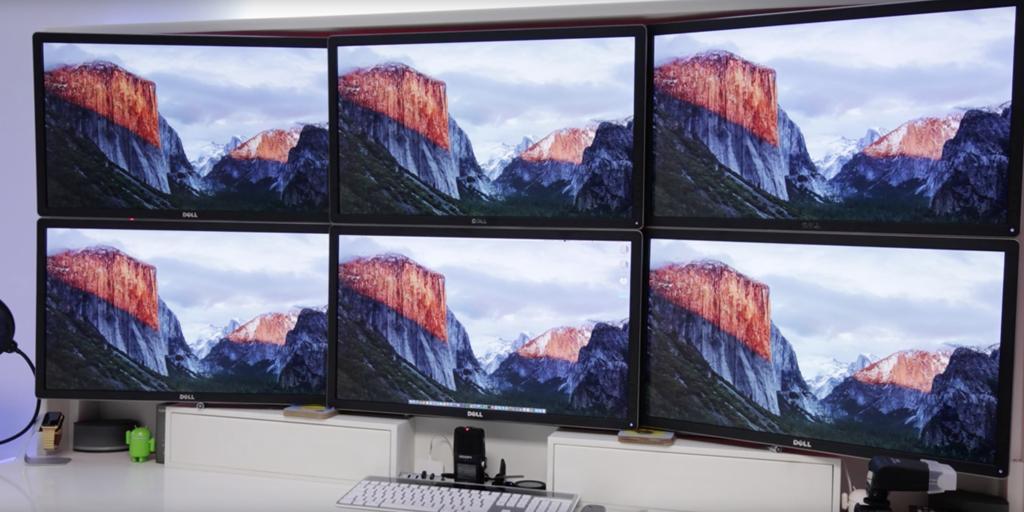 Monitores 4K num Mac Pro