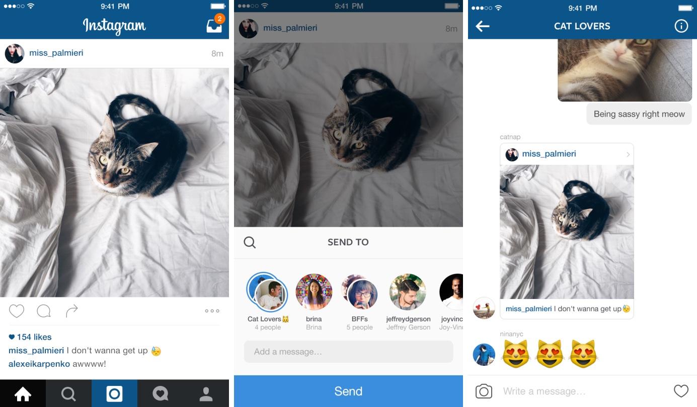Mensagem Direta no Instagram