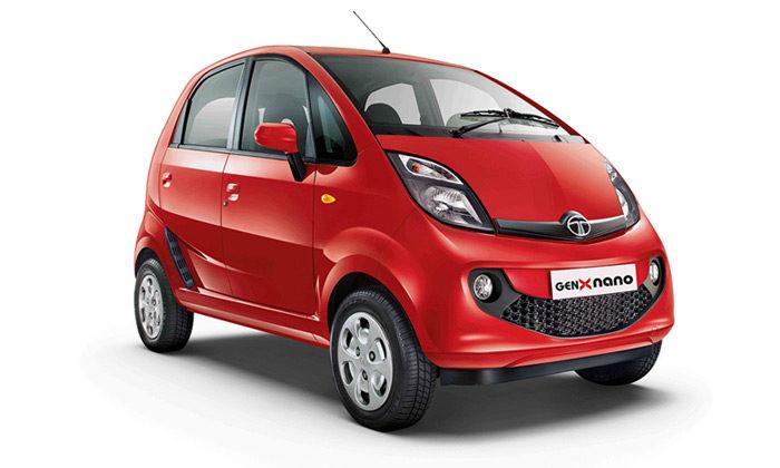 Carro GenX Nano Easy Shift, da Tata Motors