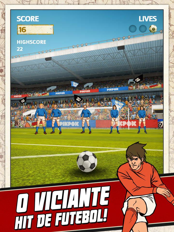 Jogo Flick Kick Football