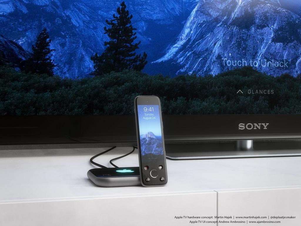 Confira um conceito para uma futura Apple TV diferente do que veremos nesta quarta-feira