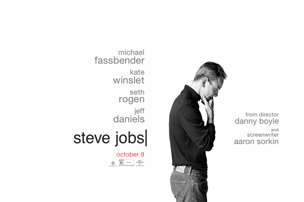 "Cartaz do filme ""Steve Jobs"""