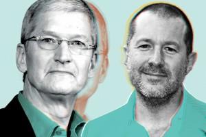Tim Cook e Jony Ive - disruptivos