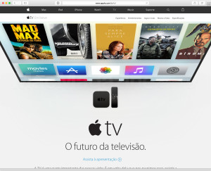 Nova Apple TV no site