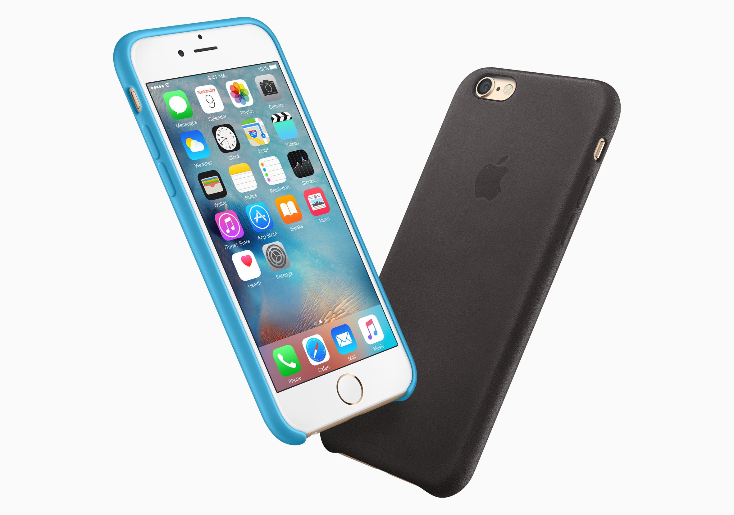 Cases para os iPhones 6s e 6s Plus