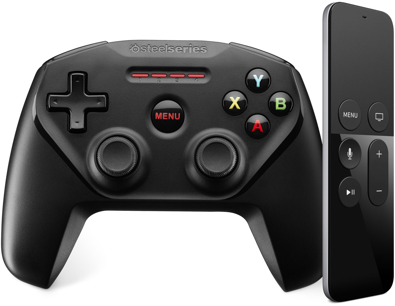 Controle Nimbus para a Apple TV, da SteelSeries
