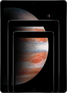 Família de iPads - Pro, Air e mini
