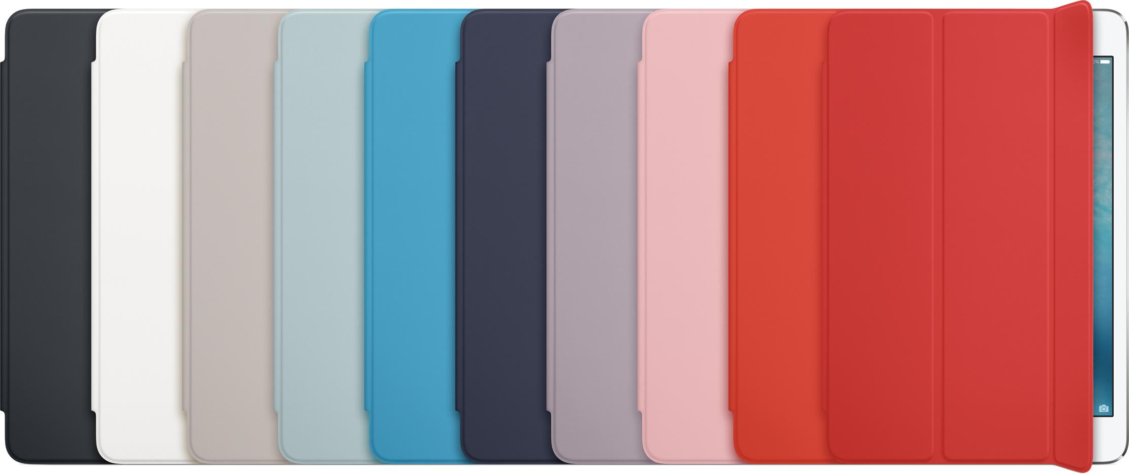 Linha de Smart Covers coloridas para o iPad mini 4