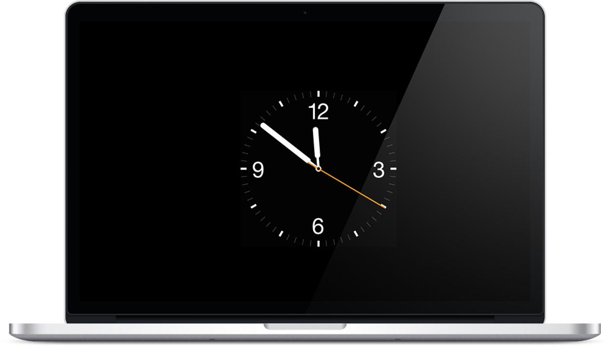 Protetor de tela imitando o Apple Watch