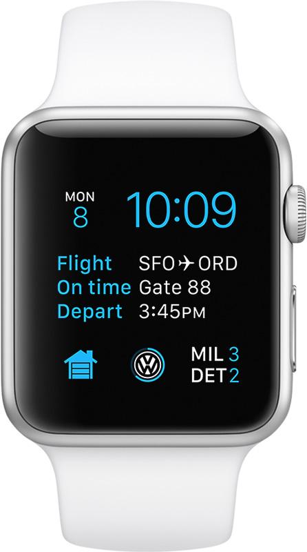 Apple Watch rodando o watchOS 2