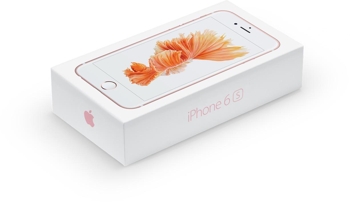 Caixa do iPhone 6s