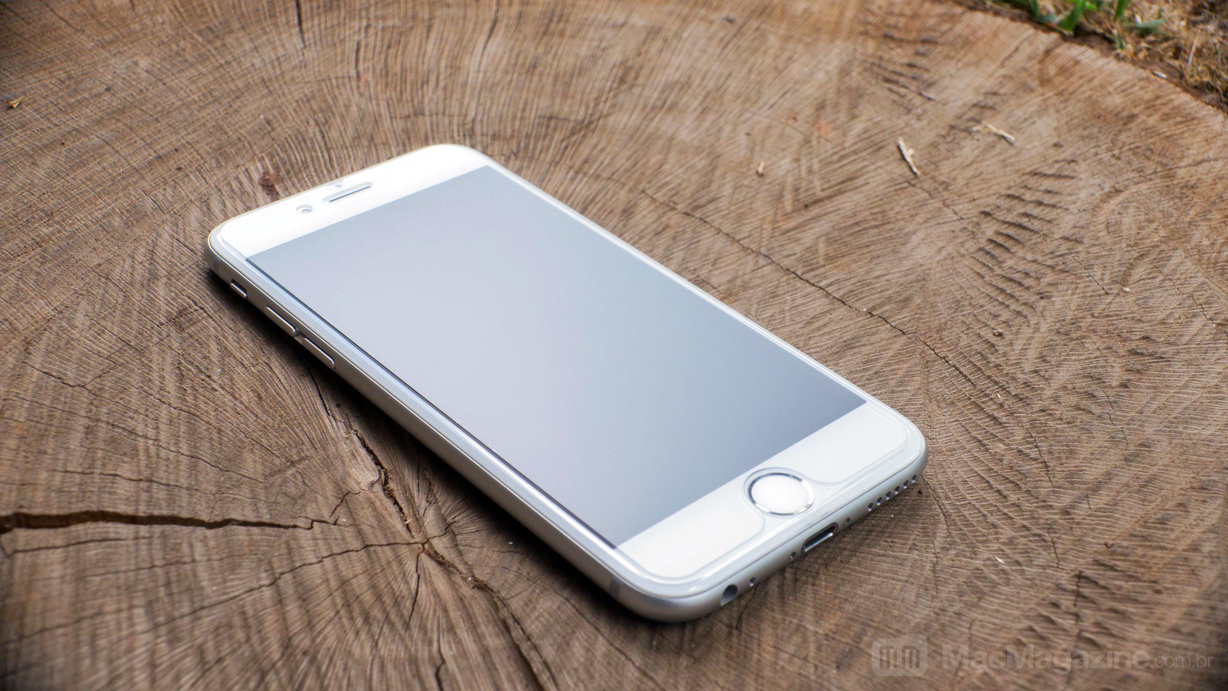 Película de vidro fosca para iPhone