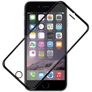 Película de vidro com borda para iPhone (miniatura)