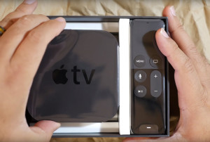 Unboxing da nova Apple TV