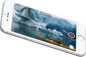iPhone 6s gravando um vídeo em 4K
