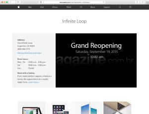 Apple Retail Store - 1 Infinite Loop (reinaugração)