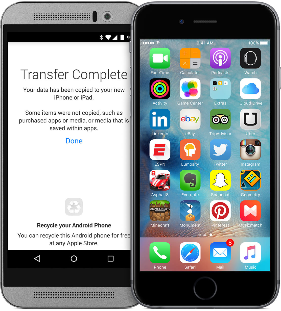 Apple - Move to iOS (Android)