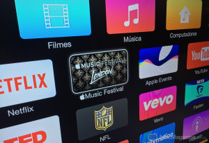 Canal do Apple Music Festival na Apple TV